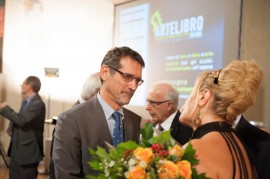 ArteLibro 2013 - Bicentenario Verdiano. Felicia Bongiovanni e il Sindaco di Bologna Virginio Merola