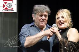 I Nomadi per il loro 50mo Beppe Carletti e Felicia Bongiovanni