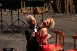 Teatro Garibaldi Politeama Palermo Falstaff di G.Verdi II atto Felicia Bongiovanni e Andrea Rinaldi