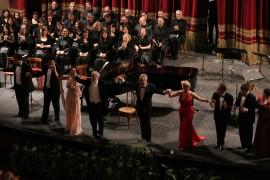 Teatro Politeama Palermo Falastaff di G. Verdi Falstaff Applausi