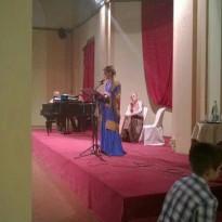 Albertus & Carmel  Arezzo Anteprima del Musical Claudia Koll e Felicia Bongiovanni