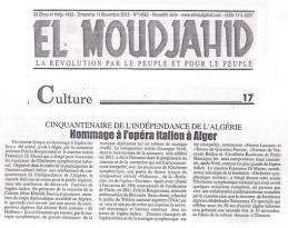 Algeria EL MOUDJAHID 001