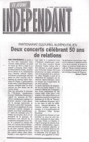 Algeria Le Jeune  INDEPENDANT 2 001