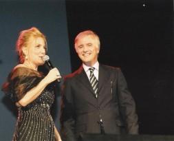 Angola novembre 2011 Felicia Bongiovanni e l'Ambasciatore d'Italia dell'Angola Giuseppe Mistretta
