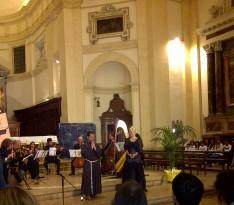 Assisi Suono Sacro Concerto  Felicia Bongiovanni e Frate Alessandro 1