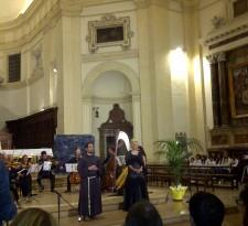 Assisi Suono Sacro concerto Felicia Bongiovanni e Frate Alessandro 2