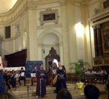 Assisi Suono Sacro concerto Felicia Bongiovanni e Frate Alessandro 3