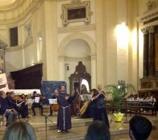 Assisi Suono Sacro concerto Felicia Bongiovanni e Frate Alessandro 4