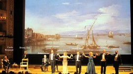 Felicia Bongiovanni a La Fenice  di Venezia Concerto in onore  a Carlo Bergonzi Michele Pertusi e Desiré Rancatore