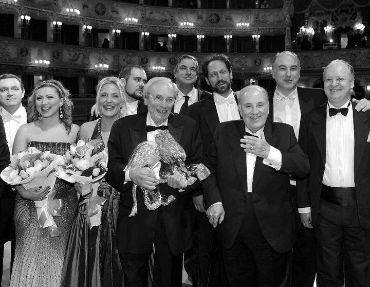 Felicia Bongiovanni con Carlo Bergonzi a La Fenice di Venezia