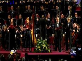 Felicia Bongiovanni in Vaticano Sala Nervi Inno alla Gioia Nona Beethoven