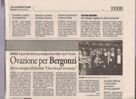 Il Gazzettino Teatro La Fenice dicembre2010