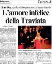 La Provincia La Traviata  Soresina 19 aprile 2011