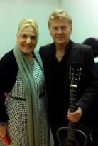 Premio Braille Felicia Bongiovanni con Ron nel backstage
