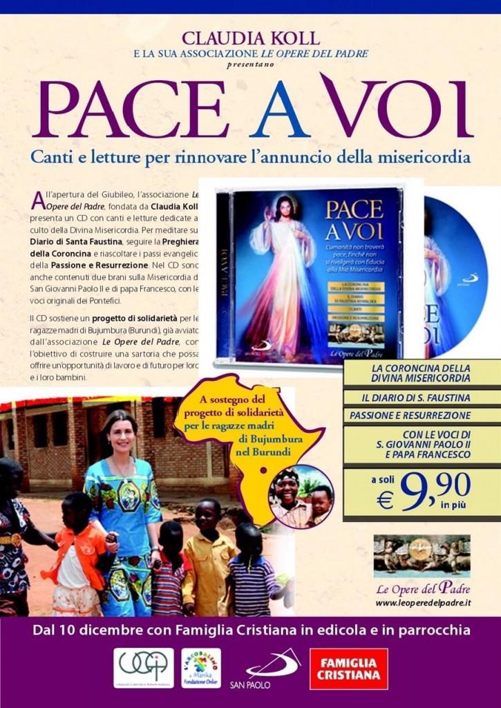 Pace a voi Volantino