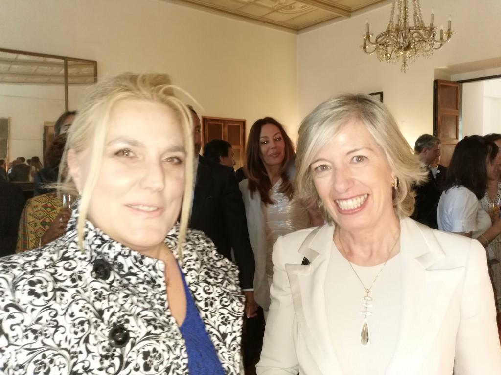 Felicia Bongiovanni e il ministro Stefania Giannini