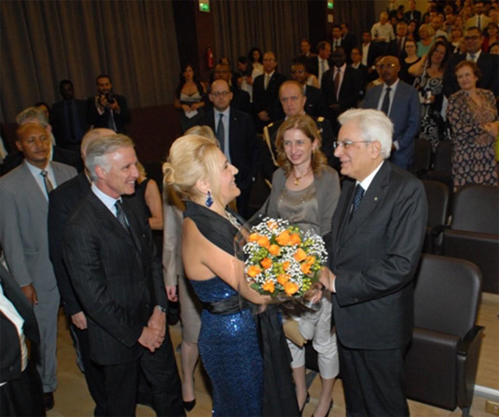 Felicia Bongiovanni incontra il Presidente della Repubblica Sergio Mattarella