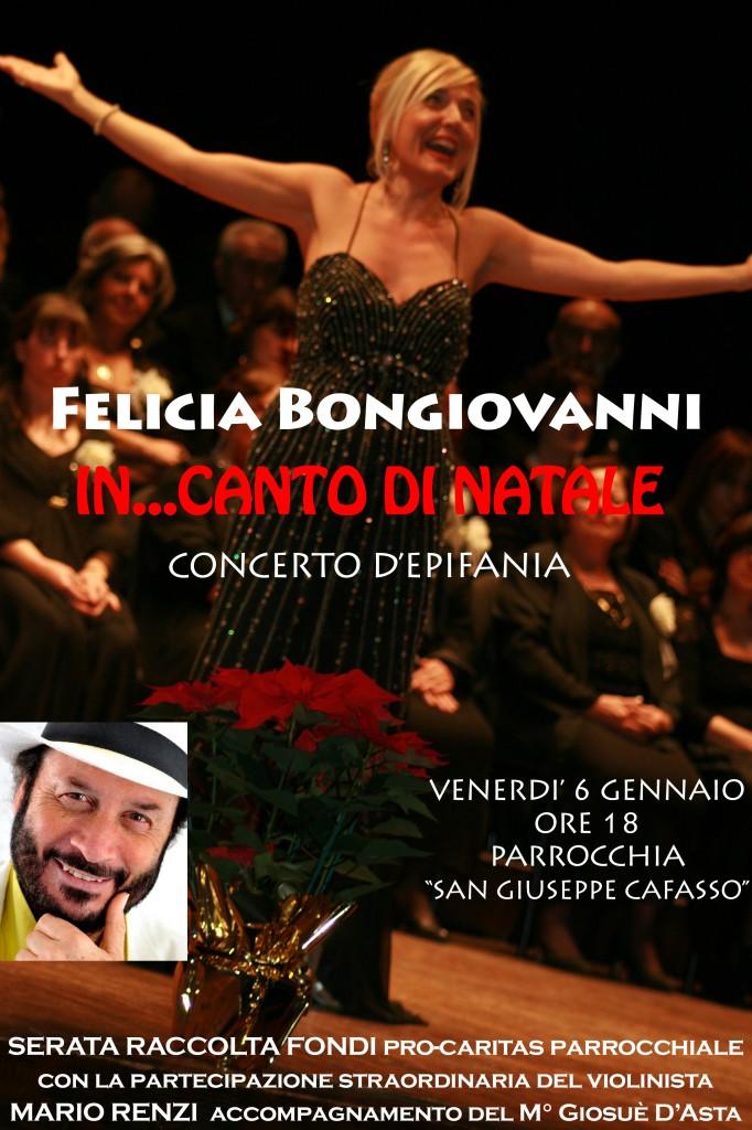 Felicia Bongiovanni IN..CANTO DI NATALE - Concerto d'Epifania