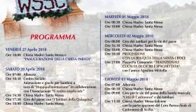 Programma 2 maggio 2018